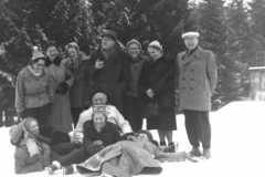 Grażyna Bacewicz z rodziną i przyjaciółmi w Zakopanem, 1953 (PWM)