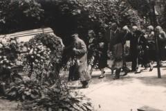 Pogrzeb Marii Modlińskiej, 1958 (PWM)