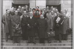 Grażyna Bacewicz na Walnym Zjeździe ZKP, 1946 (fot. Stefan Poradowski)