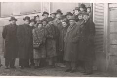 Grażyna Bacewicz z uczestnikami Plenum ZKP w Poznaniu, 1952